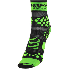 Compressport Racing V2 Trail Løbesokker grøn/sort